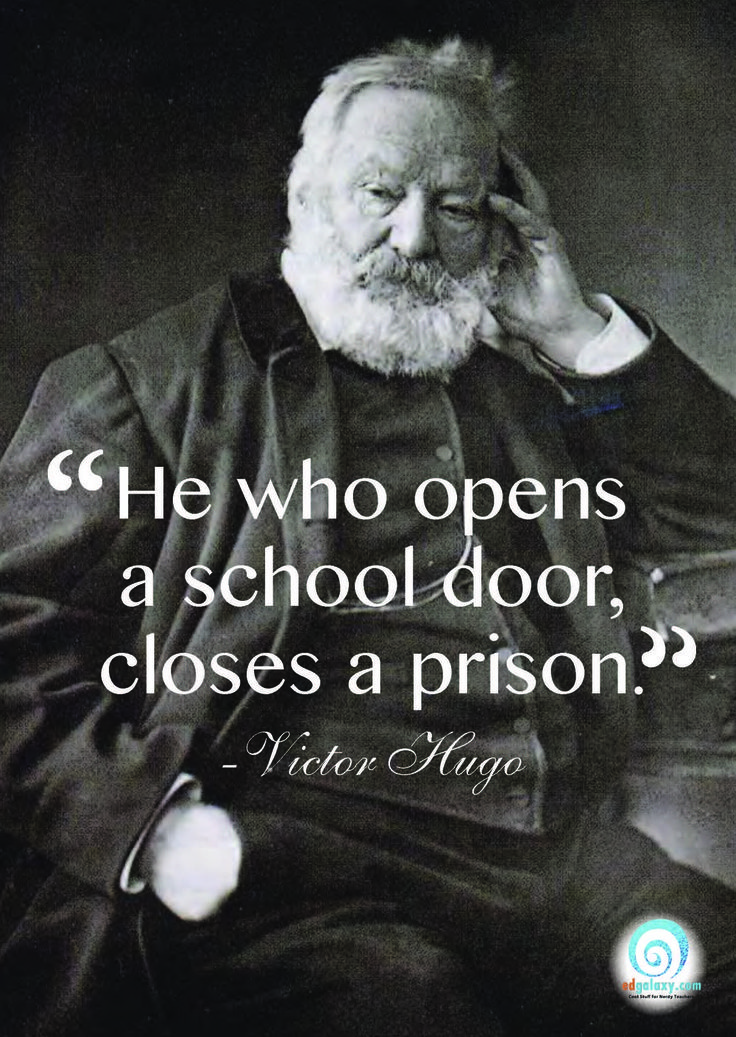 Victor Hugo Quotes About Education