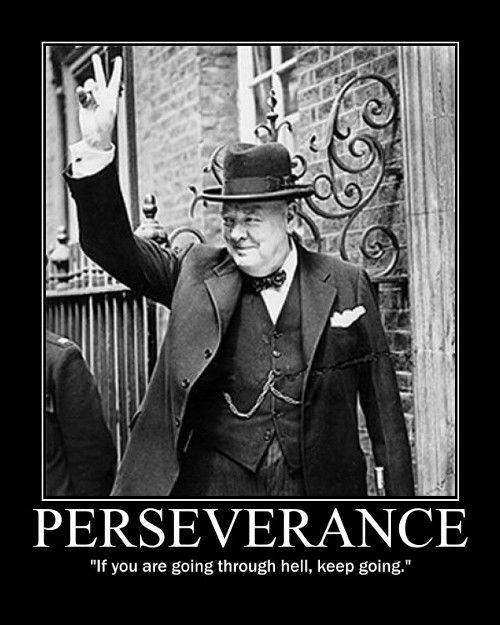 Famous Winston Churchill Quotes About Perseverance
