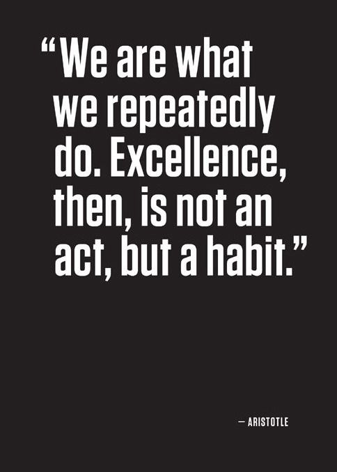 famous Aristotle quotes on excellence