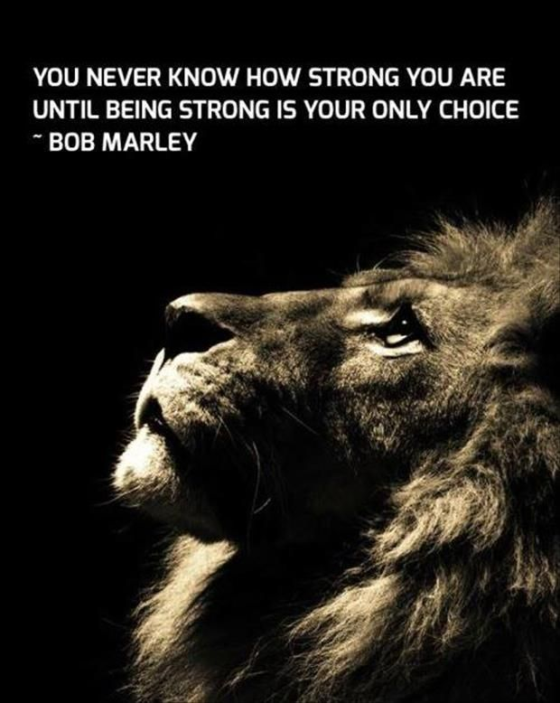 famous bob marley quotes about being strong