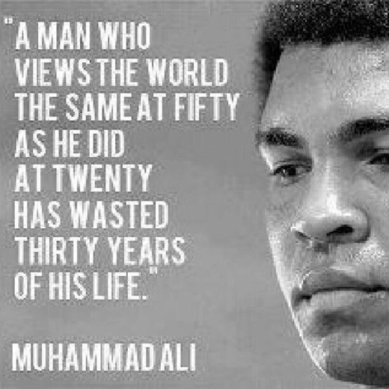 Muhammad Ali Famous Quotes About Old Age