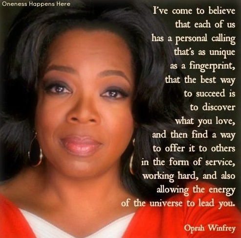 Famous Oprah Winfrey Quotes On Success