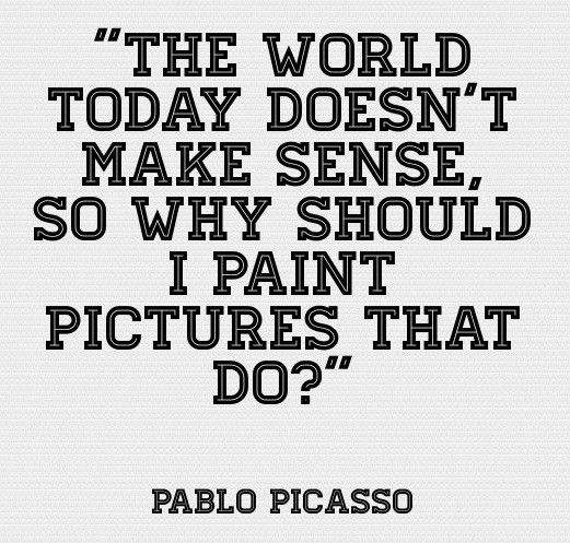 Famous Pablo Picasso Quotes About The World