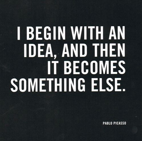 Pablo Picasso Famous Quotes About Idea