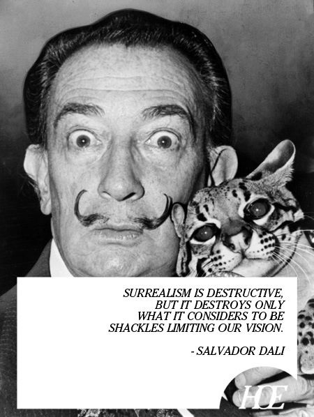 Famous Salvador Dali Quotes On Surrealism