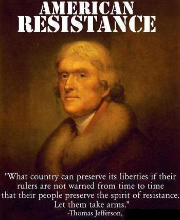 Thomas Jefferson Quotes On Guns