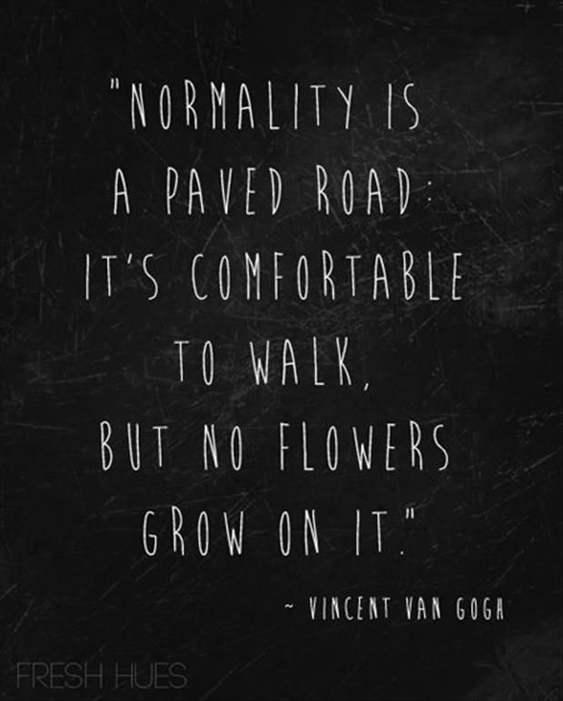 Famous Vincent Van Gogh Quotes About Normality