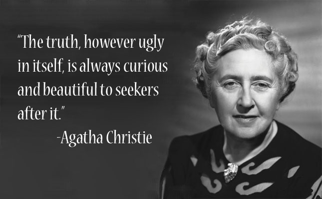 Agatha Christie Quotes About The Truth