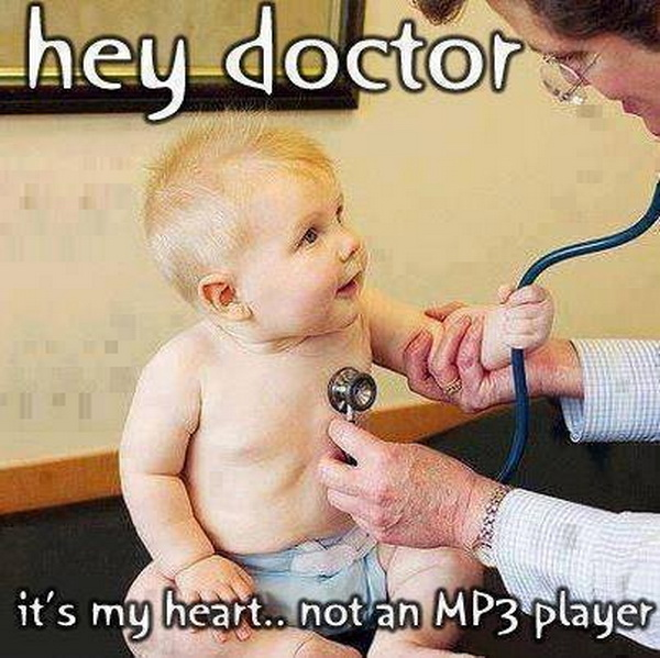 Funny Doctor Stories: Scared Little Father Vs. Doctor