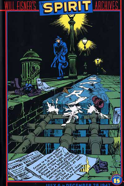 Famous Comic Book Artists - Spirit by Will Eisner