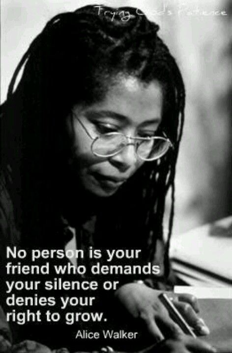 Top Alice Walker Quotes About Friendship