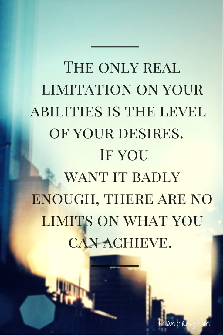 Brian Tracy Quotes About The Limits