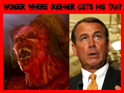John Boehner Gets His Tan From The Devil