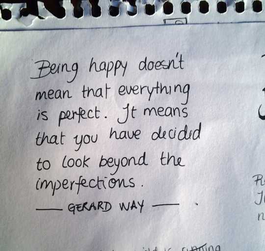Gerard Way Quotes About Being Happy