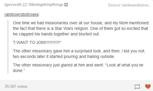 Funny Mormon Joke About Two Missionaries