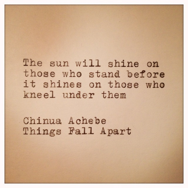 Things Fall Apart Quotes: 19 Best