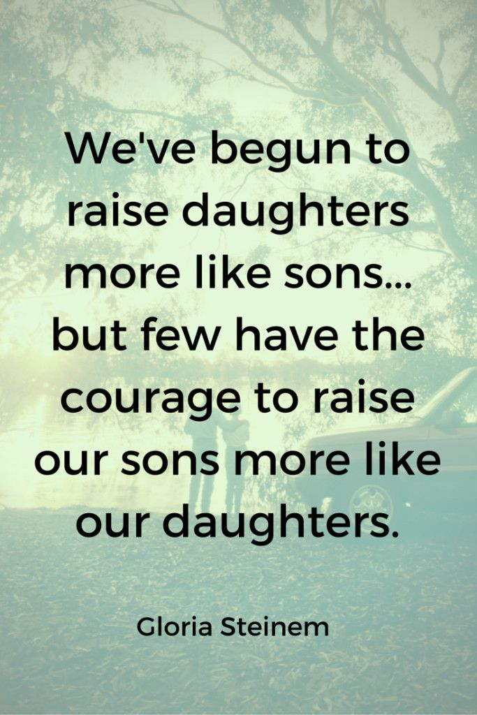 Gloria Steinem Quotes About Raising Children