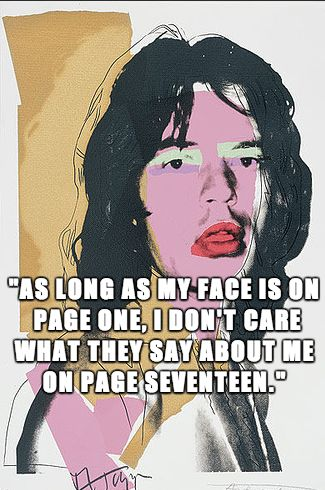 Mick Jagger Famous Quotes