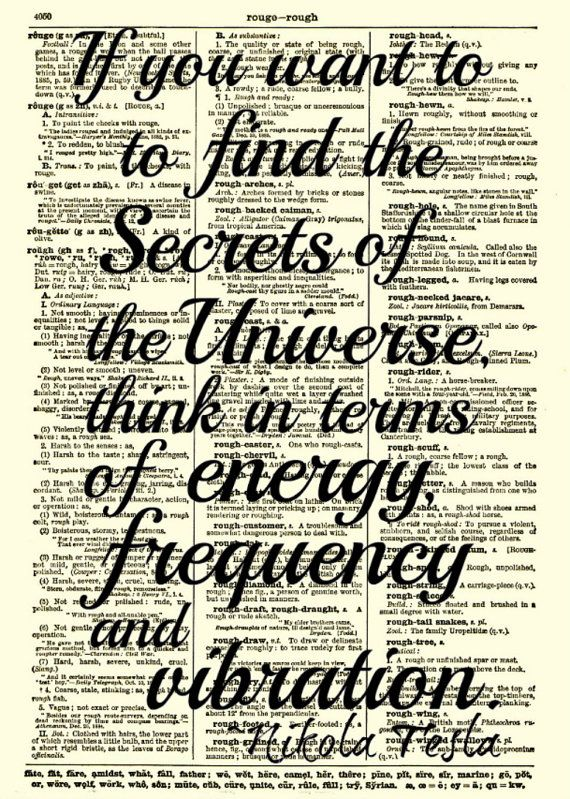 Nikola Tesla Quotes About Energy