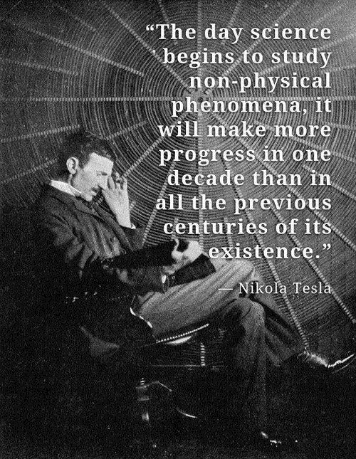 Nikola Tesla Quotes About Science