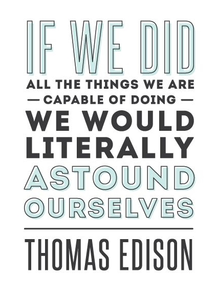 Best Thomas Edison Quotes