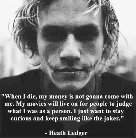 Best Heath Ledger Quotes