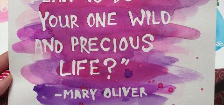 Mary Oliver Quotes About Life