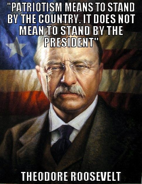 Theodore Roosevelt Quotes About Patriotism