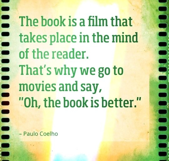 Paulo Coelho Quotes about movies