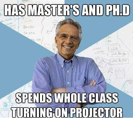 Meme About Dumb PhD