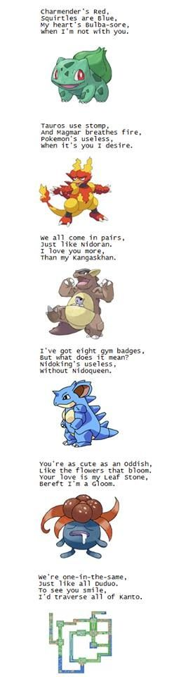 Cute Pokemon Pick Up Lines For Fans