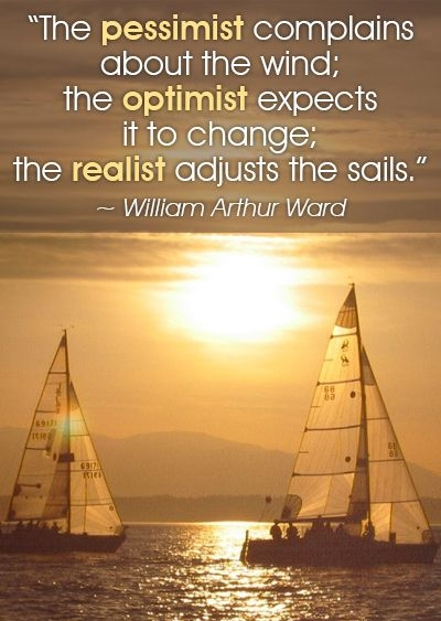 William Arthur Ward Quotes About Pessimist, Optimist, And Realist
