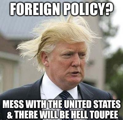Donald Trump One Liners About His Hair