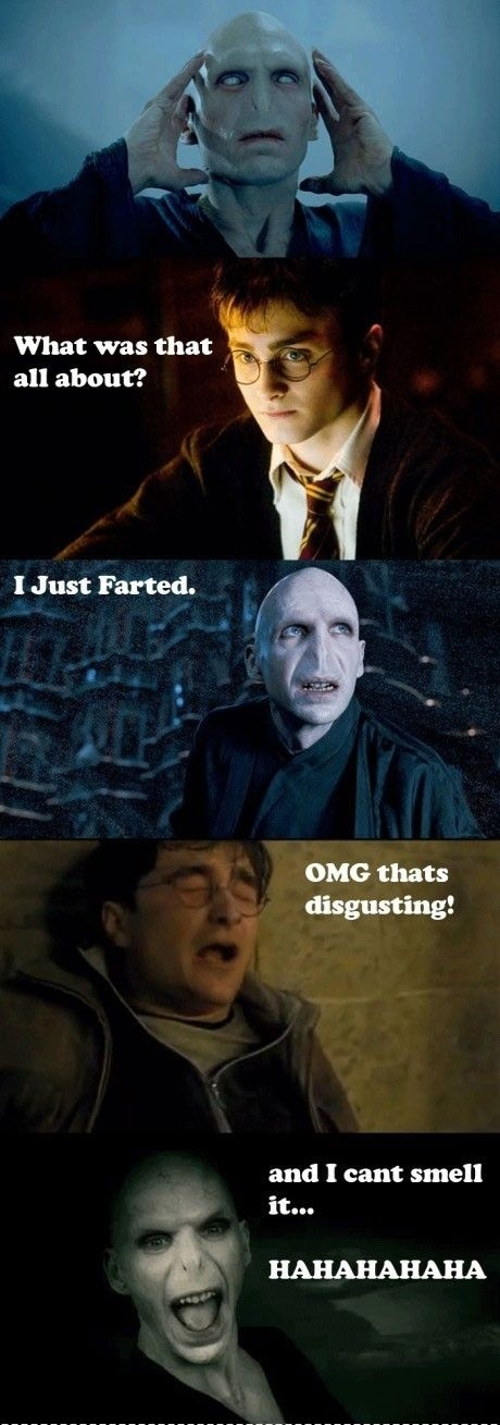 Harry Potter Jokes About Disgusting Fart