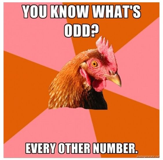 Funny Geometry Jokes About Odd Numbers
