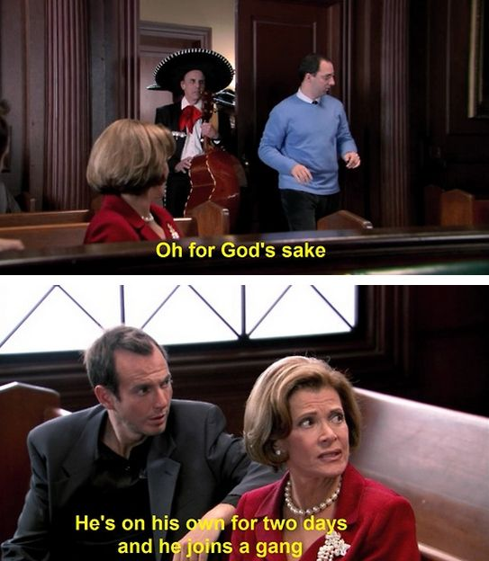 Lucille Bluth Quotes About Her Son Buster Bluth