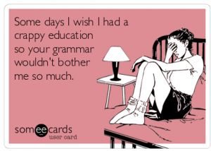 Wish For Crappy Education