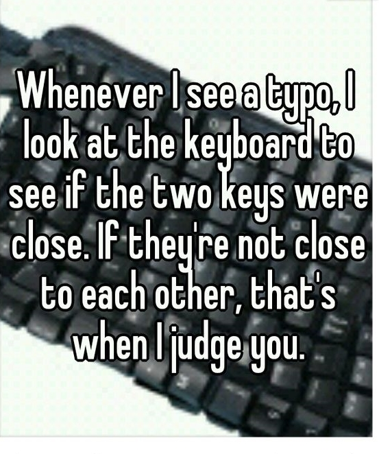 Grammar Joke About Two Keyboard Keys