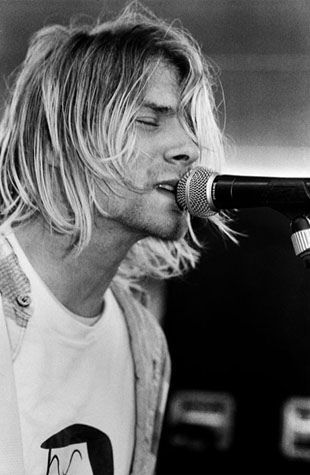 Kurt Cobain In Concert