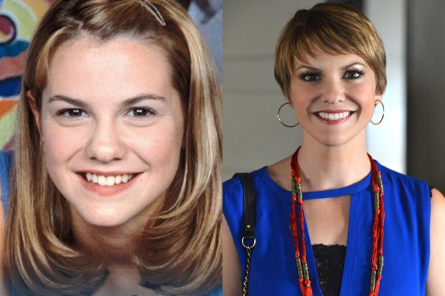 Larisa Oleynik Then And Now