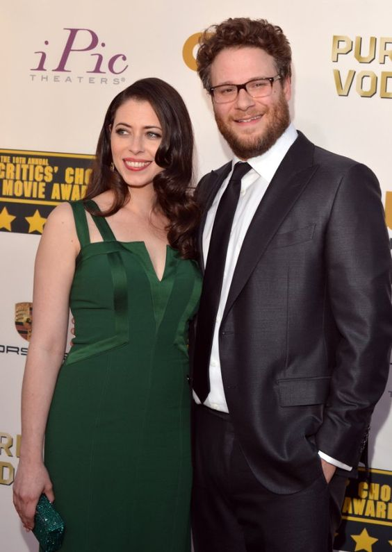 Lauren Miller And Her Husband Seth Rogen