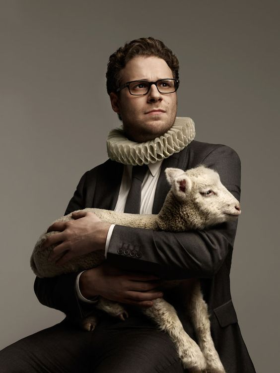Seth Rogen With Animal In His Hands