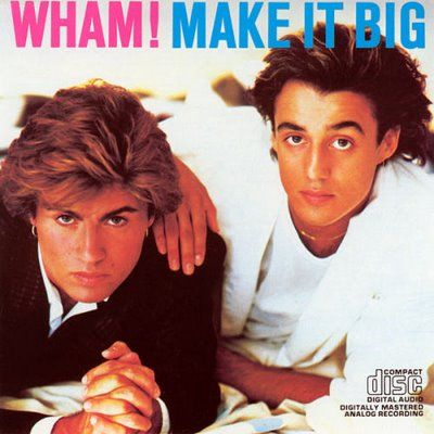 Andrew Ridgeley On The Cover Of Make It Big