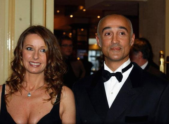 Keren Woodward And Andrew Ridgeley