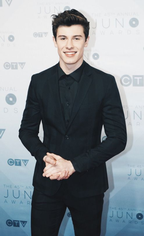 Shawn Mendes At An Awards Ceremony