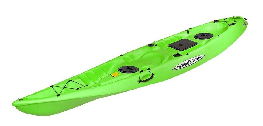 Malibu Kayaks Pro 2 Tandem Fish and Dive Package Sit on Top Kayak