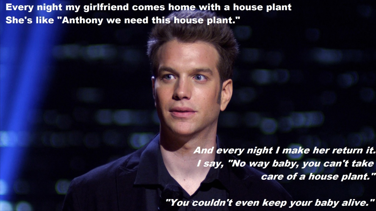 Anthony Jeselnik Quote About A Dead Baby