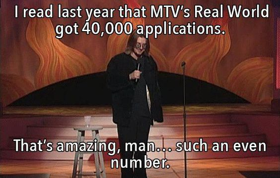 Mitch Hedberg Quote About MTV's Real World