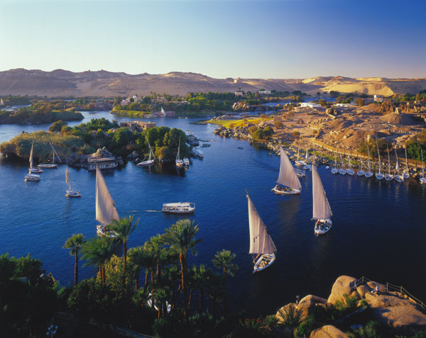 Gorgeous Nile River At Daytime