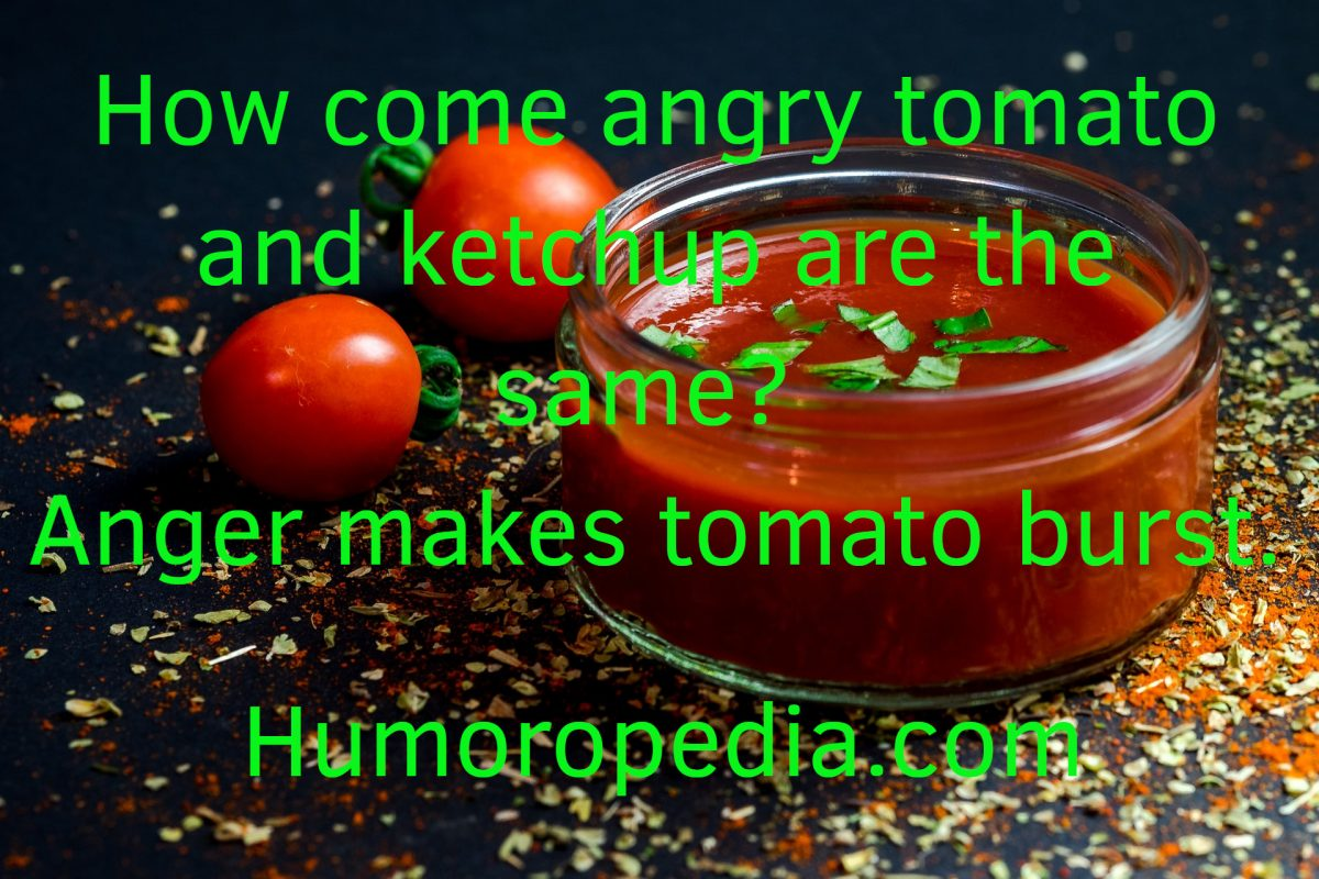 Funny Tomato Joke About Ketchup